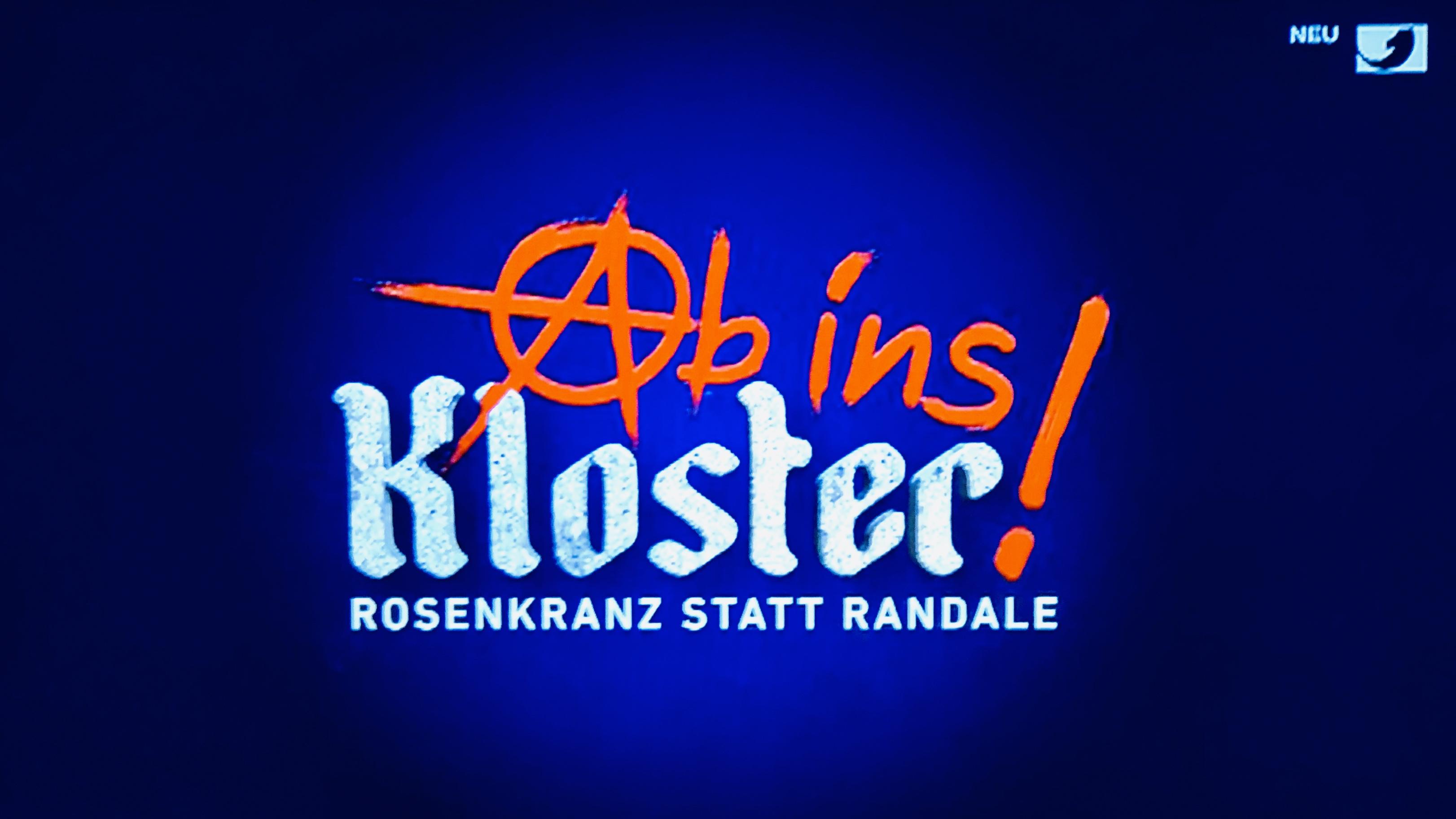 Medienkorrespondenz Ab Ins Kloster Rosenkranz Statt Randale 4