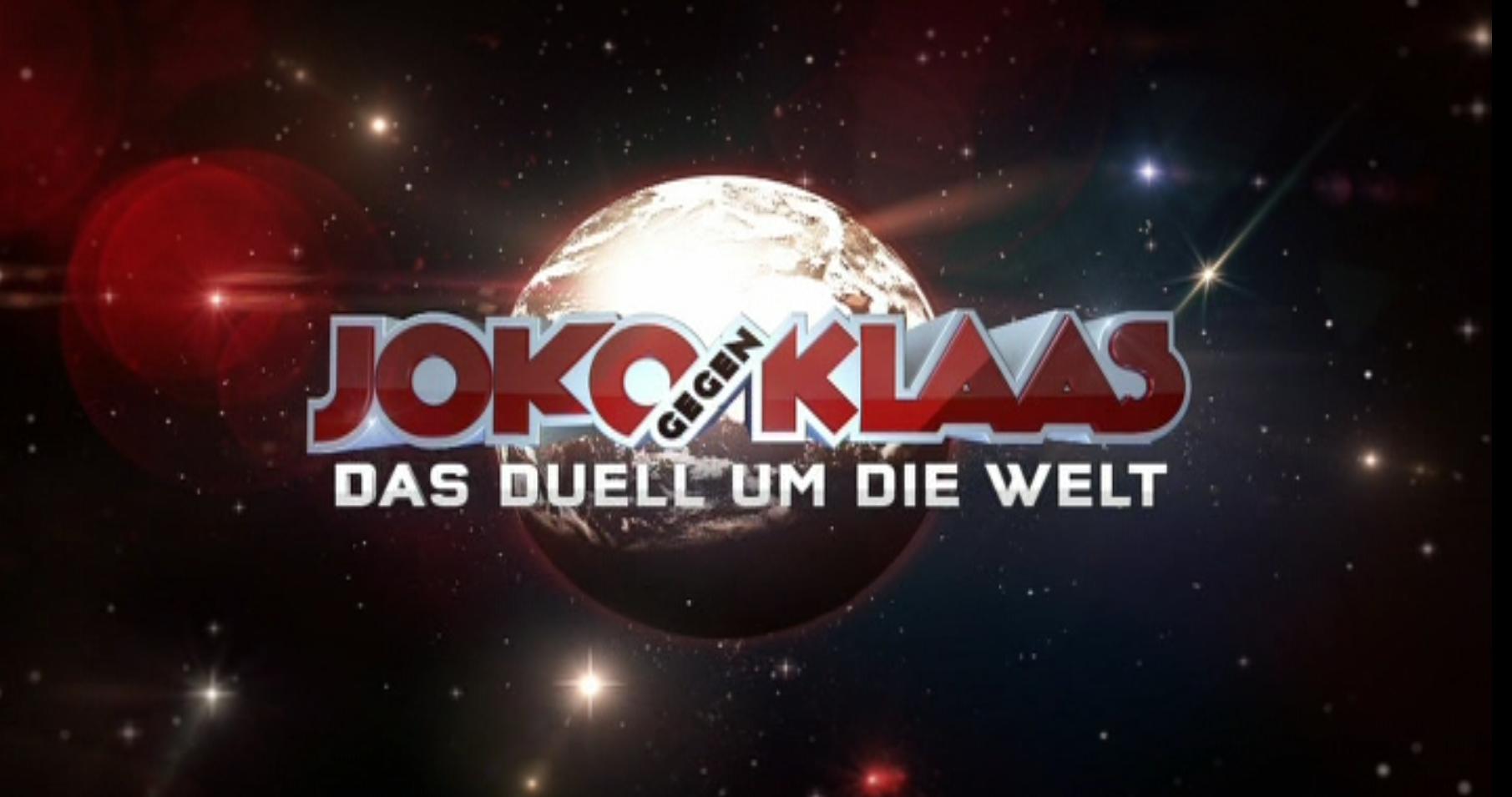 Medienkorrespondenz Joko Gegen Klaasnbsp Das Duell Um Die Welt